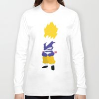 goku Long Sleeve T-shirts featuring Goku SSJ by JHTY