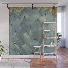 Agave Succulent Cactus Wall Mural