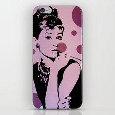 Hepburn #1 iPhone & iPod Skin