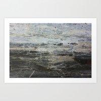 Stormy Sea 1 Art Print