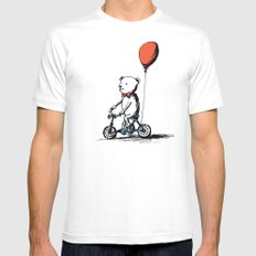 Tricycle MEDIUM Mens Fitted Tee White