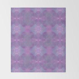 Lavender Pattern Throw Blanket