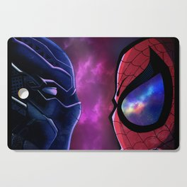 Panther vs Spidey Cutting Board