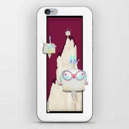 Time Rabbit iPhone Skin