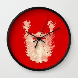 Santa Beard 2 Wall Clock