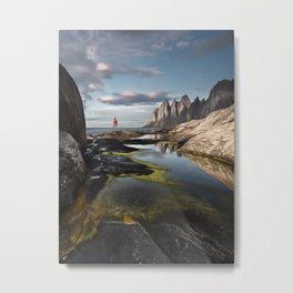 Devil's Teeth Metal Print