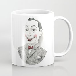 """Portrait of Pee-wee Herman"" Coffee Mug"