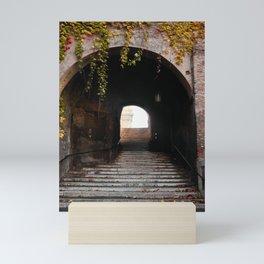 The tunnel of love in Rome Mini Art Print