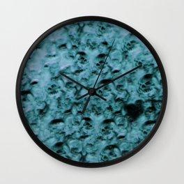 ghost skulls Wall Clock