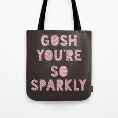 Gosh, Sparkly  Tote Bag