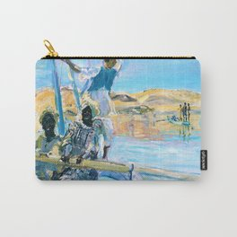 12,000pixel-500dpi - Max Slevogt - Pirates - Digital Remastered Edition Carry-All Pouch