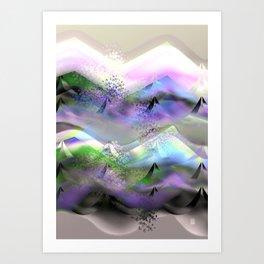 Ocean-Race  no31 Art Print