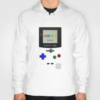 gameboy Hoodies featuring GAMEBOY COLOR by Smart Friend