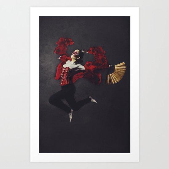 Song of the Samurai Art Print
