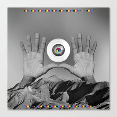 CMYK HANDS Canvas Print