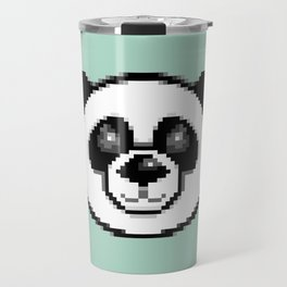 Pixel Panda Travel Mug
