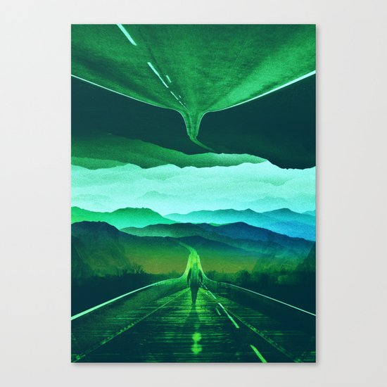 Proof of Existence Canvas Print