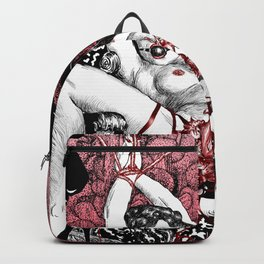 Abduction Of Melusine Backpack
