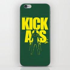 KICK ASS iPhone & iPod Skin