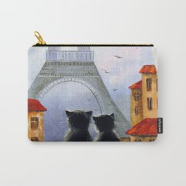 Cats of Paris  Carry-All Pouch