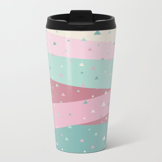 Ice cream Metal Travel Mug