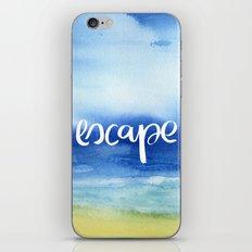 Escape [Collaboration with Jacqueline Maldonado] iPhone & iPod Skin