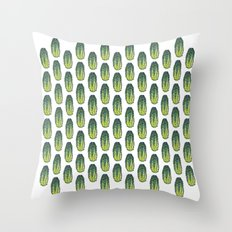 Cucumber (Concombre) Throw Pillow