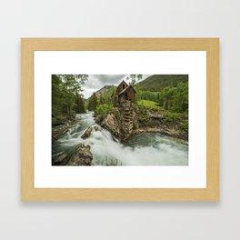 Crystal Mill Framed Art Print