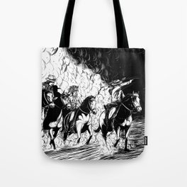 The Old West Battle IV Tote Bag