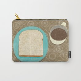 Bread and Coffee Carry-All Pouch