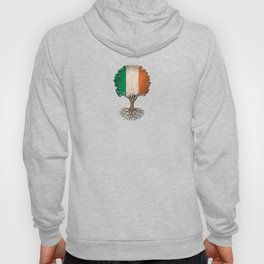 Vintage Tree of Life with Flag of Ireland Hoody