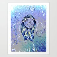 trippy Art Prints featuring Trippy by AndriBelieve