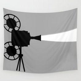 Movie Cine Projector Wall Tapestry
