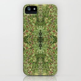 Hawthorn B Fractal Side iPhone Case
