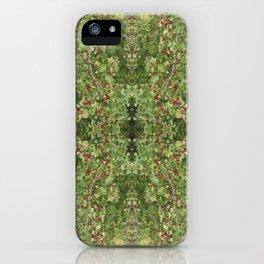 Hawthorn B Fractal Side iPhone Case