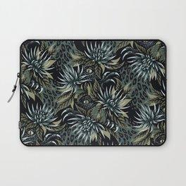 Hidden Creatures - Grey / Khaki Laptop Sleeve