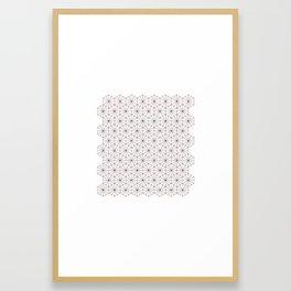 #326 Triagons/Hexangles – Geometry Daily Framed Art Print
