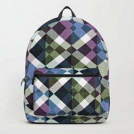 Retro Box Star Pattern Small Backpack