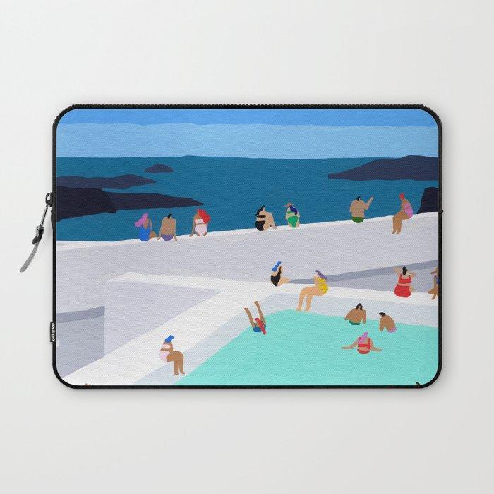 Santorini sun Laptop Sleeve