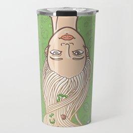 Italian pasta girl Travel Mug