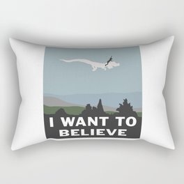 I Want to Believe (in Falkor) Rectangular Pillow