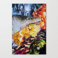 venom Canvas Prints featuring Venom by John Turck