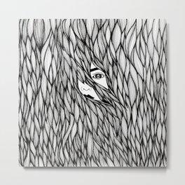 In waves Metal Print