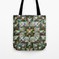 bands Tote Bags featuring Structural Bands of Color   by Phil Perkins