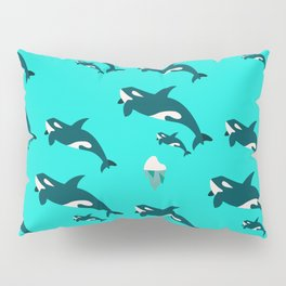 Tilikum in heaven Pillow Sham
