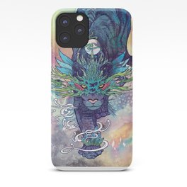 Spectral Cat iPhone Case