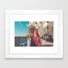 Mary Celeste Pt II Framed Art Print