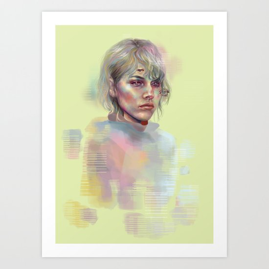 Then I Saw It Art Print