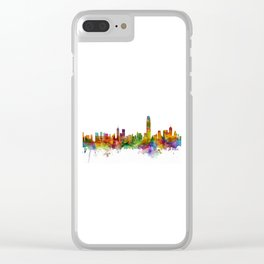 Hong Kong Skyline Clear iPhone Case