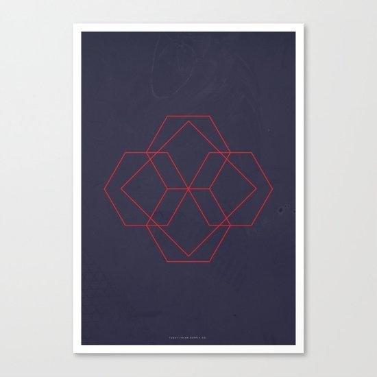 Geometric No.4 Canvas Print